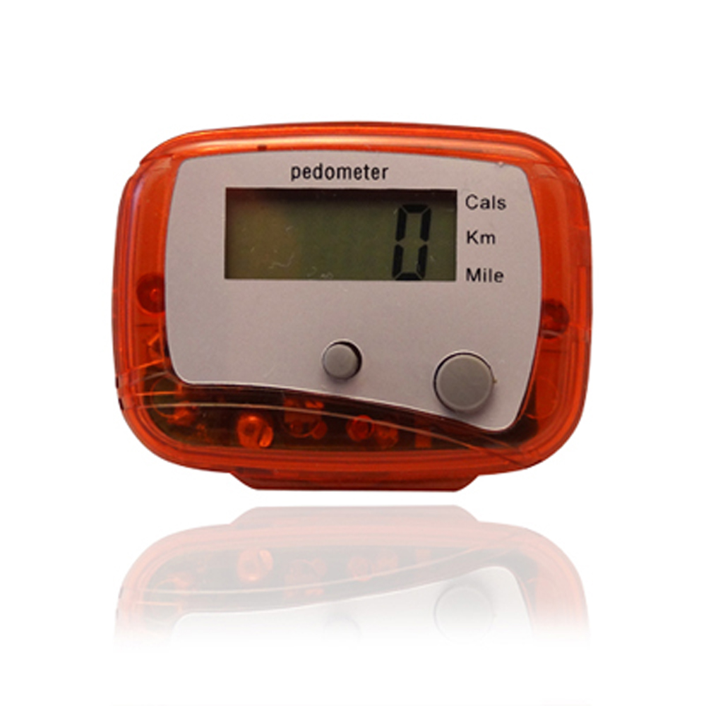 Multi Function Lcd Pedometer Walking Step Calorie Distance